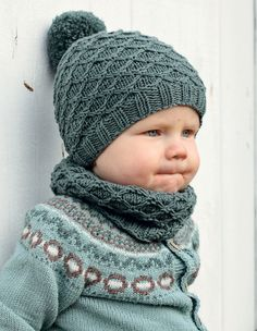 Småtroll-lue og Småtroll-hals fra boka vår, Klompelompe Strikk til hele familien :) Baby Born Clothes, Crochet Baby Clothes, Crochet Baby Hats, Knit Crochet, Baby Hats Knitting, Baby Knitting Patterns, Knitted Hats, Easy Knitting, Kids Hats