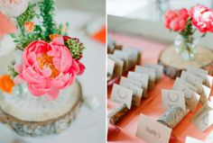 real colorado wedding    name cards   anna be denver #realwedding