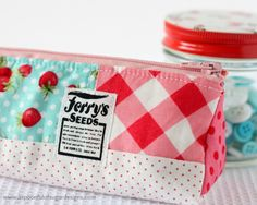 Making a Pencil Case - A Spoonful of Sugar