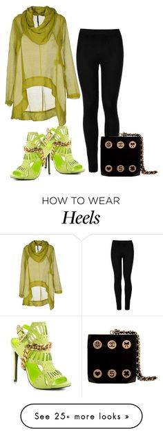 """""""Untitled #6455"""" by tailichuns on Polyvore featuring Manila Grace, Wolford, Privileged and Chanel"""