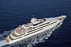 O'mega is a 82.5 m / 272.25 ft luxury motor yacht. She was built by Mitsubishi Heavy Industries in 2004.      With a beam of 11.6 m and a draft of 4.4 m, she has a steel hull and aluminium superstructure. This adds up to a gross tonnage of 1809 tons.     She is powered by  engines   giving her a maximum speed of 15 knots and a cruising speed of 13 knots.    The motor yacht can accommodate 32...