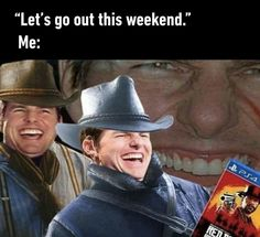 red dead redemption 2 meme tom cruise
