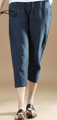 dd49271fba15 51 Best pants images in 2019 | Cotton linen, Cotton sheets, Elastic ...