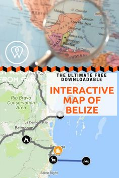Our picture of the day features Belize City, a once-pirate-infested town that has retained its character. Map Of Belize, Belize Resorts, Belize City, Weather In Belize, Interactive Map, Low Key, Central America, Good Things, How To Plan