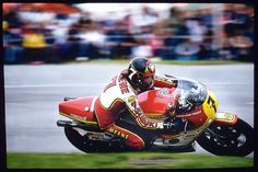 1977 Barry Sheene victory with Michelin #michelin #motogp