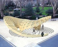 """""""Swoosh pavillon architecture"""", Londres"""