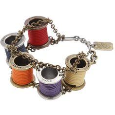 q-pot thread bracelet