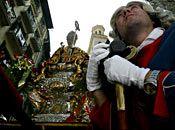 Recorrido y horario de la procesión de San Fermín, by Sanfermin.com Foto Maite H Mateo