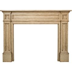 Pearl Mantels Classique Fireplace Mantel Surround ($715) ❤ liked on Polyvore featuring home, home decor, fireplace accessories and classique