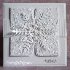 A Scrapjourney: Splitcoast Stamps Sketch - Cards I like Homemade Christmas Cards, Christmas Cards To Make, Xmas Cards, Handmade Christmas, Homemade Cards, Diy Christmas, Holiday Cards, Snowflake Cards, White Snowflake