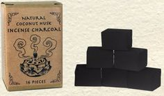 Natural Incense Charcoal – Coconut Husk Based