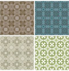 4 Classic Tile Vector Repeatable Patterns - http://www.welovesolo.com/4-classic-tile-vector-repeatable-patterns/