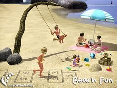 Generations patch is required for sand toy and beach hopscotch (your base game must be updated to Ver. 1.22.9 or newer)..