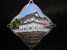 Japan Koyoto Nijo Castle Unused Badge stocknagel Hiking Medallion G9872   eBay