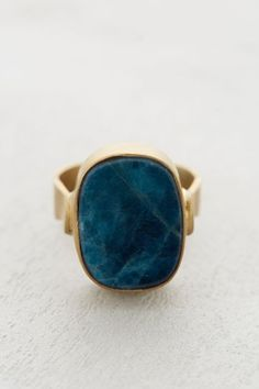 Blue Apatite Ring - anthropologie.com #anthroregistry