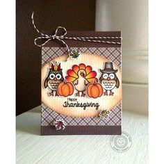 Harvest Happiness 4x6 Photo-polymer Clear Stamp Set - Sunny Studio Stamps