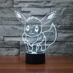 3D Design Pokemon Go LED Night Light The World Of Pokemon Go