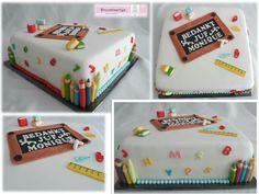 Teacher cake / taart voor de juf