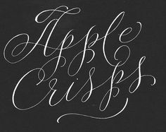 Cheryl Dyer Calligraphy Hand Lettering, via Flickr