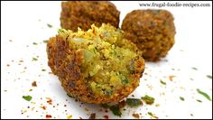 Falafel Recipe: a great snack recipe or delicious dinner kids will love too!