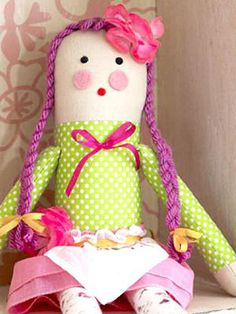 Rag Doll Kids Sewing Project | Easy Sewing Projects for Kids | Scoop.it Charity project?