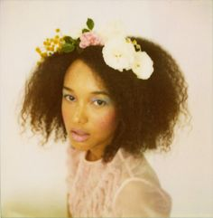 jeana sohn: photographer. love the pastels here (and this model's gorgeous natural hair!).