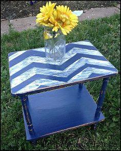 little table makeover, furniture furniture revivals