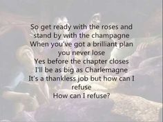 How Can I Refuse- Barbie as the Princess and the Pauper w/ Lyrics