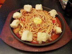 Seafood pasta from Patbingsoo Korean Dining House at Plaza Singapura