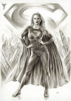 SUPERGIRL -Woman Of Steel por jairovalverde - Cómics | Dibujando.net