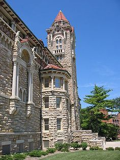 Museum of Natural History, Dyche Hall, the University of Kansas, Lawrence, Kansas