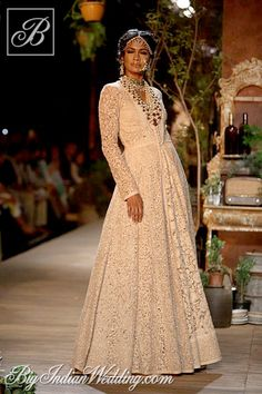 Sabyasachi designer creation at Delhi Couture Week 2013