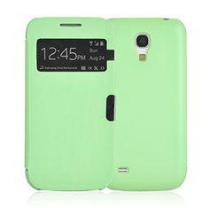 JAMMYLIZARD | GRÜN 'Smart View' Flip Cover Case Hülle für Samsung Galaxy S4 Mini mit Magnetverschluss, inkl. Displayschutzfolie JAMMYLIZARD http://www.amazon.de/dp/B00EJF8CIY/ref=cm_sw_r_pi_dp_m0ntub0SXW5C5