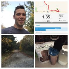 Didn't have much time but still got a short run in over lunch. Now to finish Friday strong! #fitdad #beachbodycoach #run #shakeology #coffee
