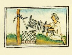 Aztec Weaver, Florentine Codex