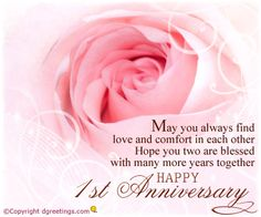 Always stand by each other's side, Anniversary Cards Anniversary Card Sayings, 1st Wedding Anniversary Wishes, Anniversary Wishes For Parents, Marriage Anniversary Quotes, Wedding Day Wishes, Anniversary Message, Happy Anniversery, Bible Quotes, Verses