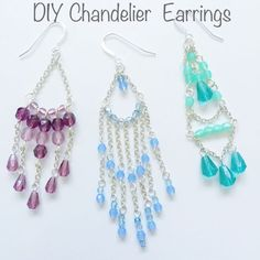 Picture of Beginners Guide to DIY Chandelier Earrings                                                                                                                                                     More