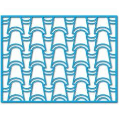 Silhouette Design Store: roof tile mat/layer/stencil