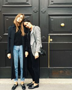 Marie-Stella-Maris Inspiration Gucci loafers and denim @biancaivey #fortheloveoffashion