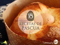 Después de la cuaresma y la semana santa, llega Pascua. En esta fecha, se hacen imprescindibles las monas de pascua o cualquier receta relacionada con huevos y conejitos.