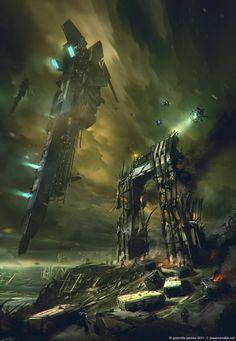"Guerilla Games ""Killzone 3"" ISA Rallying Point by Jesse Van Dijk"