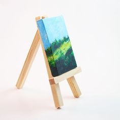 Oh jeez how cute is this mini? I LOVE these little landscapes. Tell me, landscape or seascape, what do you prefer? Landscapes, My Love, Mini, Cute, Paisajes, Kawaii, Scenery