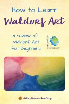 Wondering how to learn Waldorf art? The crayon drawings, the watercolor paintings, and oh, those colorful chalkboard drawings! Waldorf Art for Beginners from Waldorfish is the answer. Read this review of the online program. So you can bring painting and drawing to your children at home. Curriculum Planning, Homeschool Curriculum, Homeschooling, Art Lessons For Kids, Art For Kids, Crayon Drawings, Chalkboard Drawings, Inspired Learning, Play Based Learning