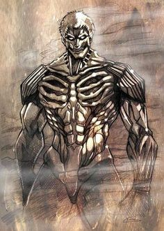 Armored Titan. Attack on titan. 進撃の巨人. Shingeki no Kyojin. Anime. Illustration. Атака титанов. #SNK. #AOT