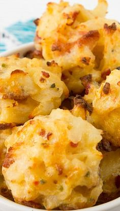 Loaded Potato Bites Recipe (wonder if I could make cauliflower work with this?)