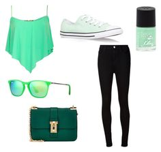 """Greeeen"" by xampl3449 on Polyvore"