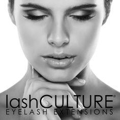 Lash Culture Model - Eyelash Extensions