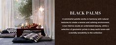 Black Palms - Fabric - Products - Ralph Lauren Home - RalphLaurenHome.com