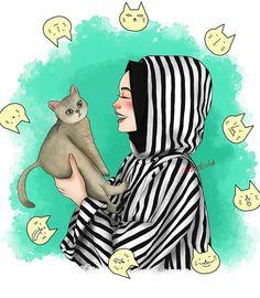 Ideas For Digital Art Anime Girl Sketch Cute Love Sketches, Cute Drawings Of Love, Dark Art Drawings, Art Drawings Sketches, Pencil Drawings, Disney Sketches, Disney Drawings, Drawing Disney, Cat Drawing