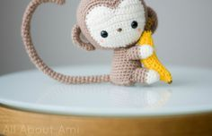 patron mono amigurumi